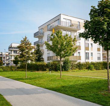 New apartment building – modern residential development