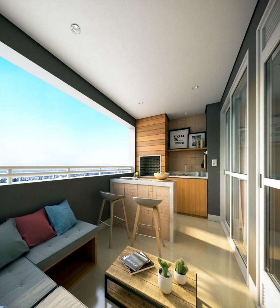 Terraço do apartamento do Paradiso.